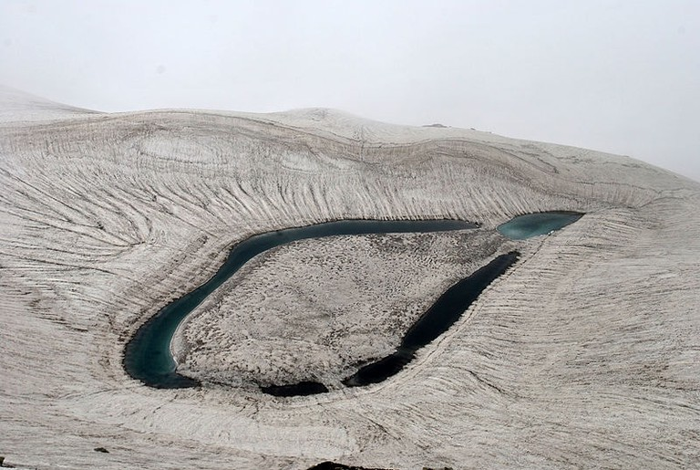 Ansoo Lake in Kaghan Valley