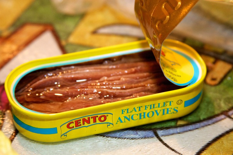 Salty tinned anchovies, a secret weapon of Italian sauces | © Nathan Forget/Flickr