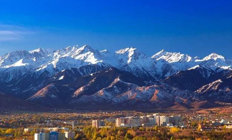 The city of Almaty