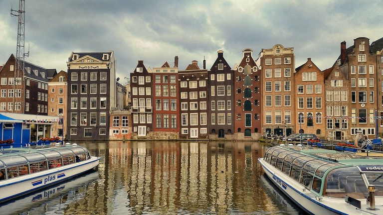 See Amsterdam's charming cityscape from the air with this helicopter tour