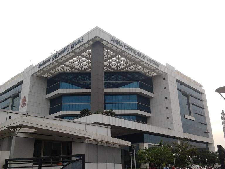 The Anna Centenary Library in Kottur, Chennai is one of the most state-of-the-art libraries in India