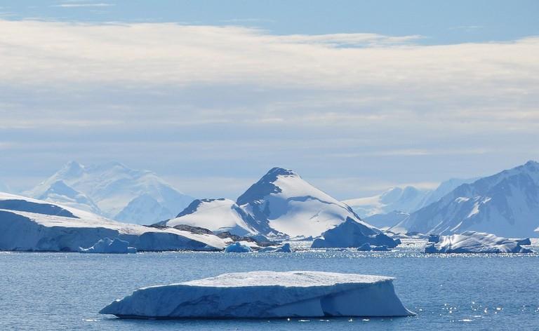 Webb Island, Antarctica