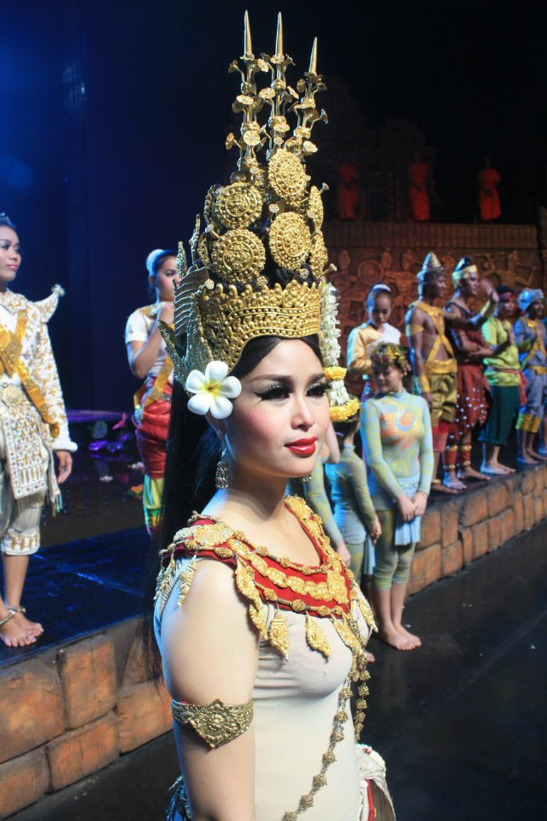 Apsara Dancer Smile of Angkor Theatre