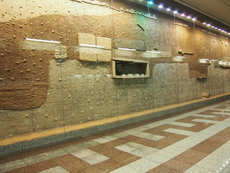 Athens' underground archaeology   © Dario Sušanj/Flickr