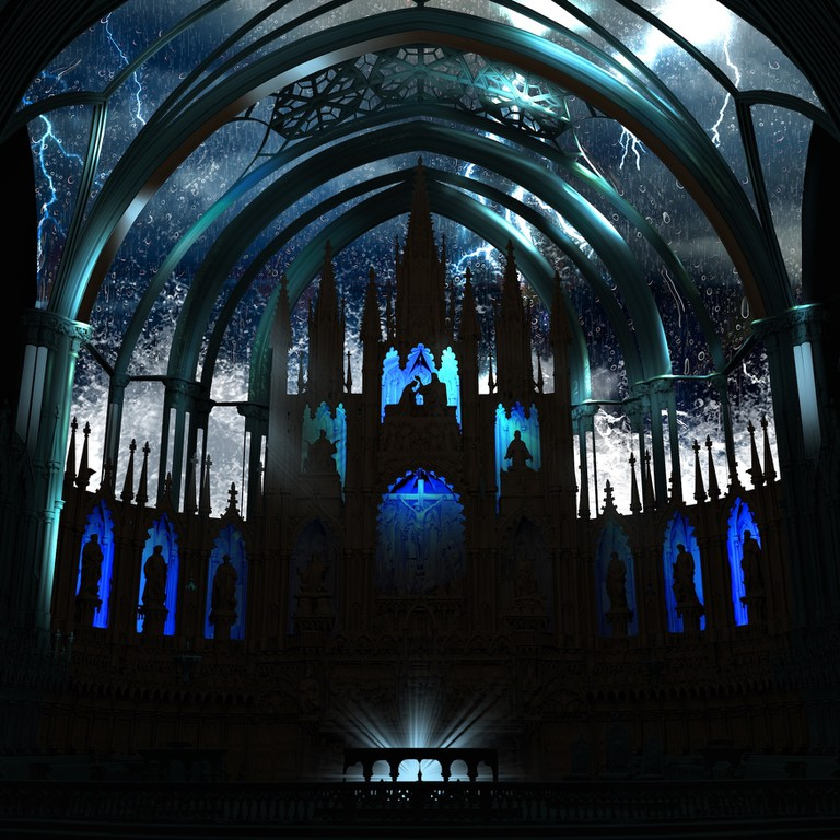 AURA in Montreal's Notre-Dame Basilica, 2017