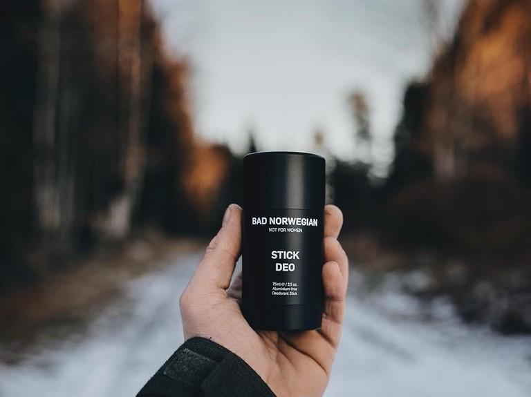 Bad Norwegian deodorant