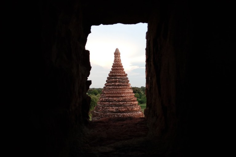 Bagan-Temple-Top-in-Window