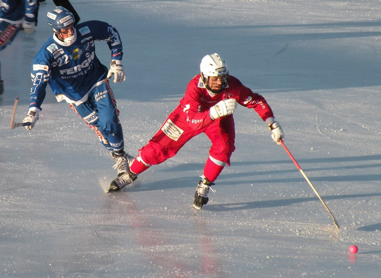 Bandy is a very fun and unique winter sport