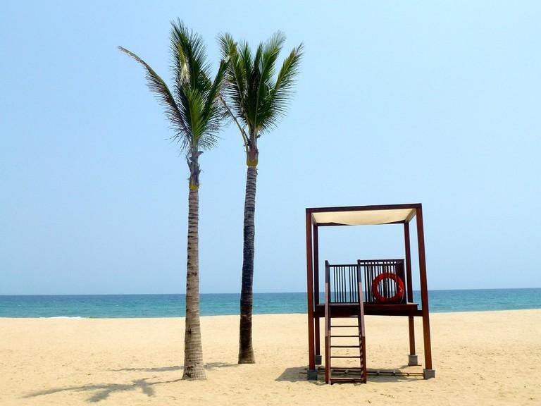 Enjoy the sun at the beach