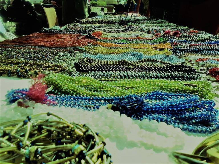 Beaded jewelry, Gwalior