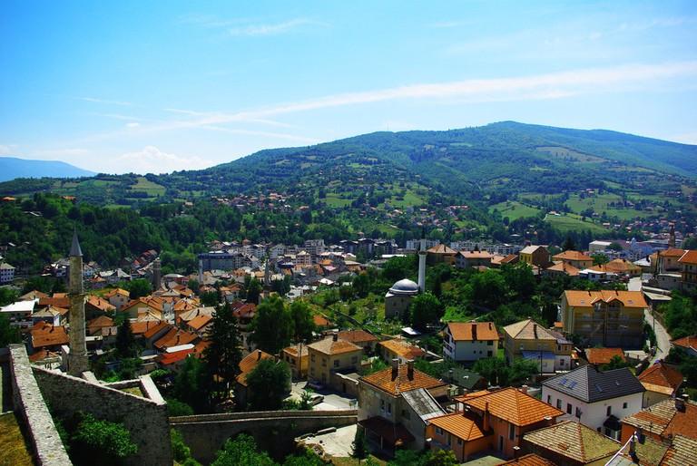 The glorious city of Travnik