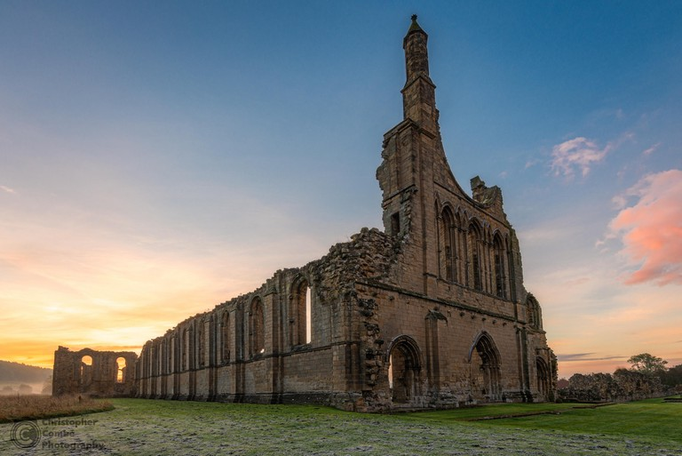 Byland Abbey ruins, Yorkshire