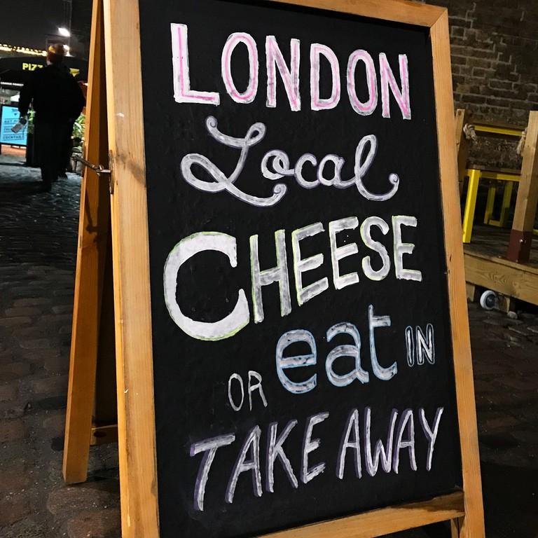 The Cheese Bar Camden