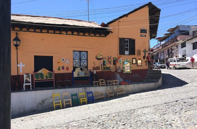 Artisan Craft House in Tlalpujahua, Mexico
