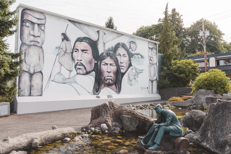 One of the Chemainus Murals