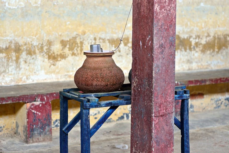 Clay-Water-Pots-in-Myanmar