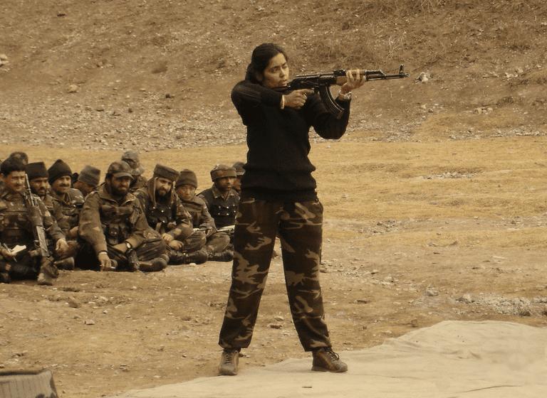 Dr Seema Rao is an adept combat shooting instructor