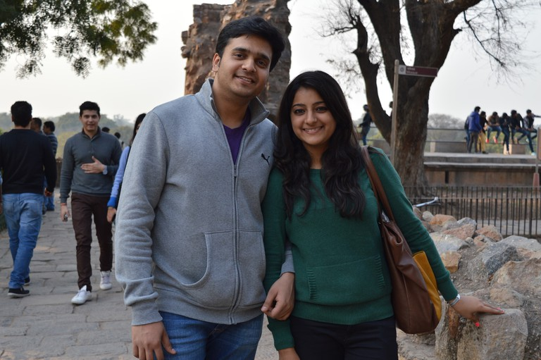 Shruti Sharma and Tarun Chauhan
