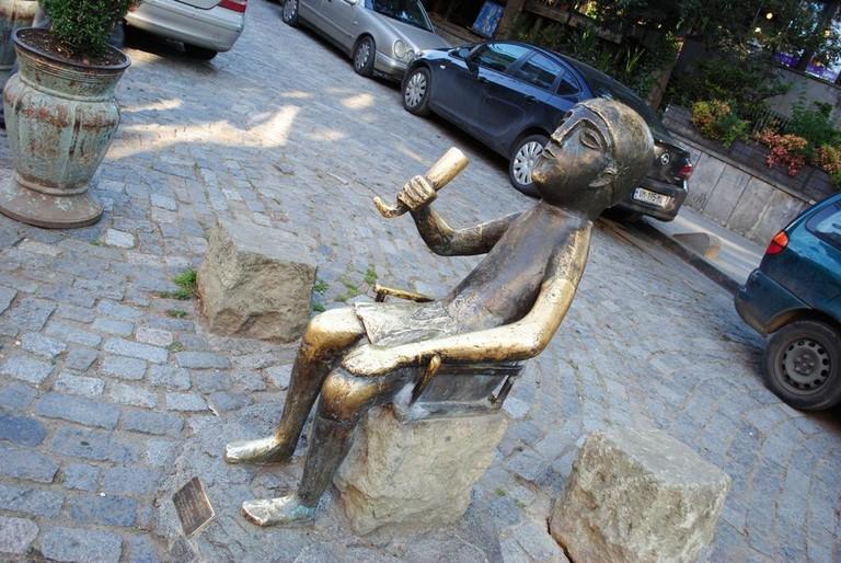Statue of Tamada in Tbilisi