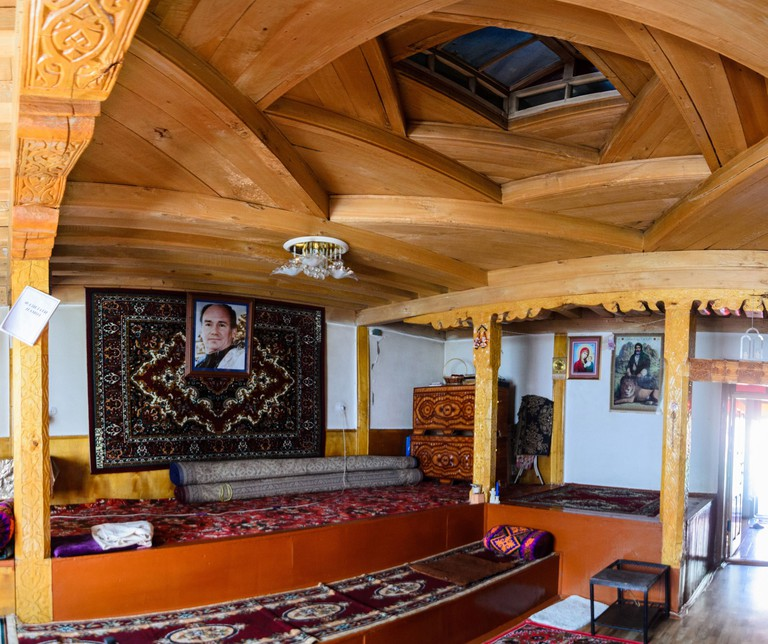 Interior Decoration in a Pamiri House