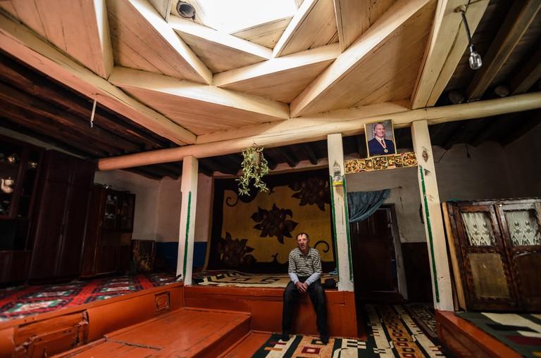 Skylight in a Pamiri House