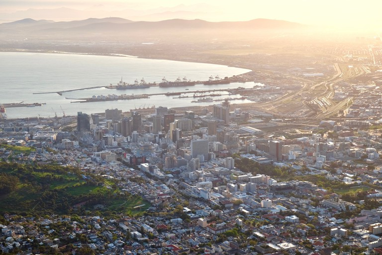 Cape Town CBD from Lion's Head