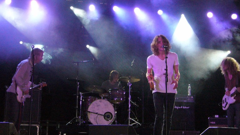 Dungen playing at Malmo Festival in 2006