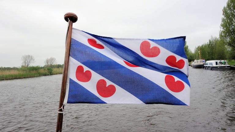 The Frisian flag