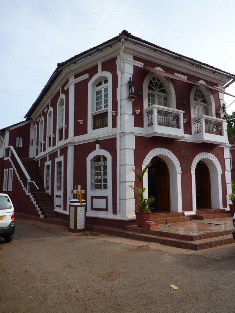 Colonial-era house in Fontainhas