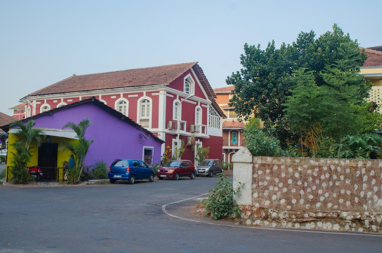 Heritage walk in Fontainhas