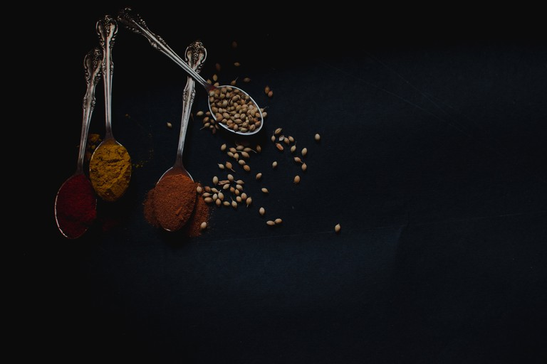 Masala spices are typical of Indian cuisine