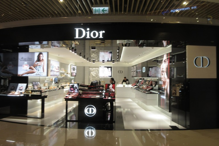 French luxury chain stores in Hong Kong and often employ French nationals I