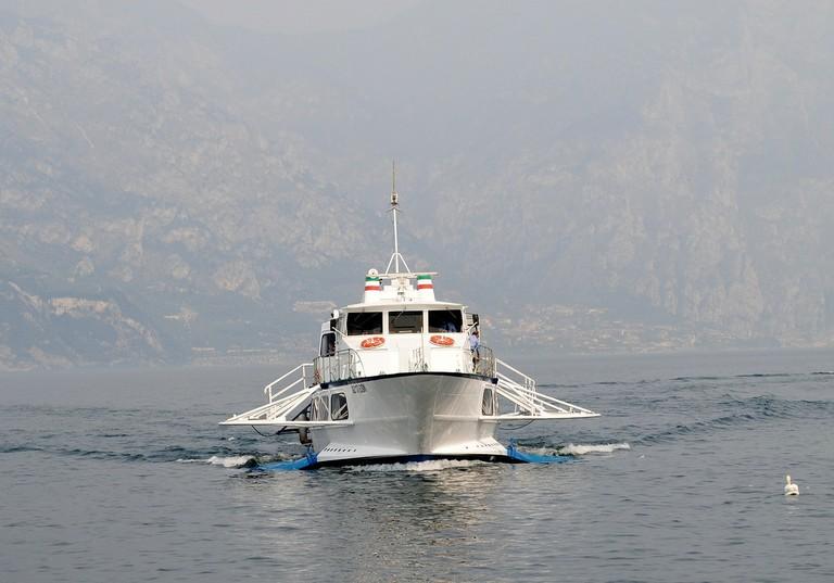 Ferry, Italy