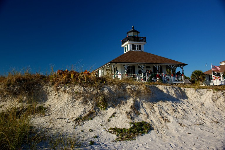 Boca Grande Lighthouse Museum on Gasparilla Island