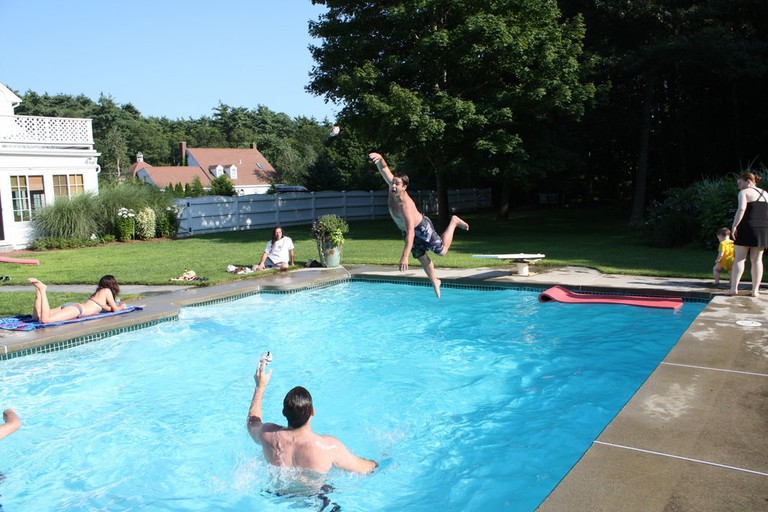 Go wild at a pool party