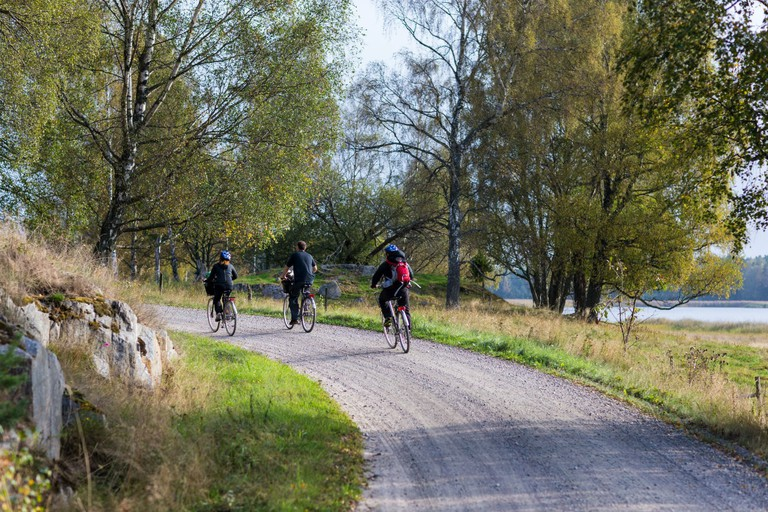 Explore the islands by bike