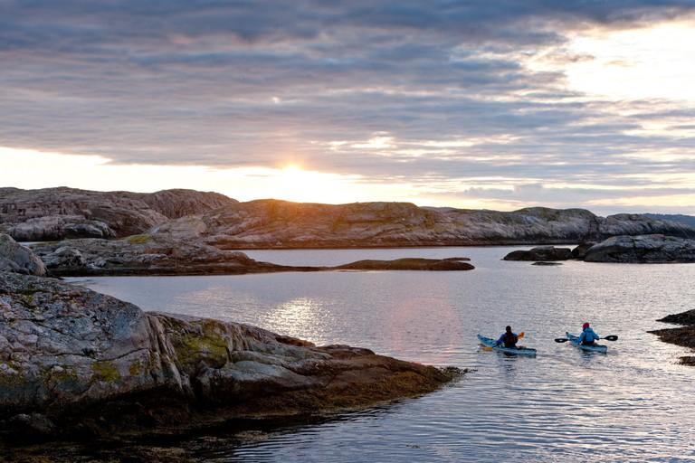Kayaking in the archipelago