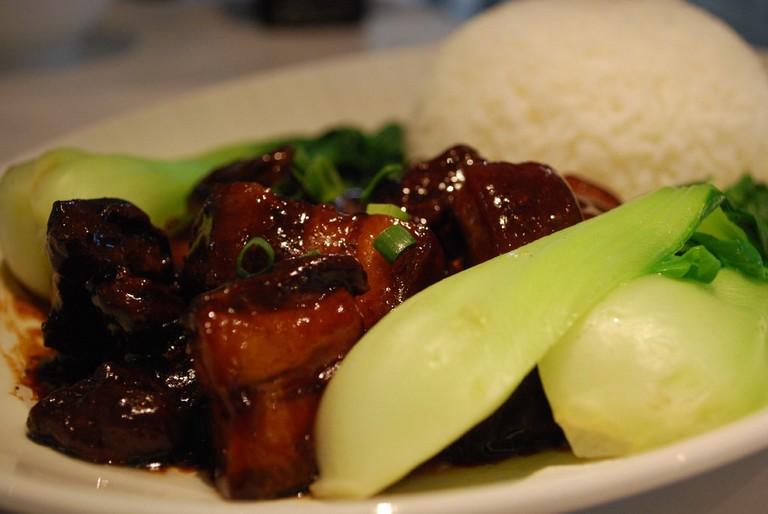 红烧肉 Grandma's Pork with rice