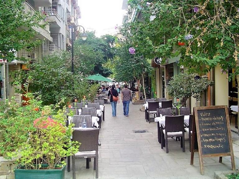 Iktinou Street, Thessaloniki