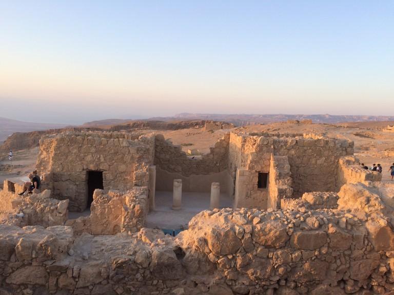 Ruins on the Masada, Israel