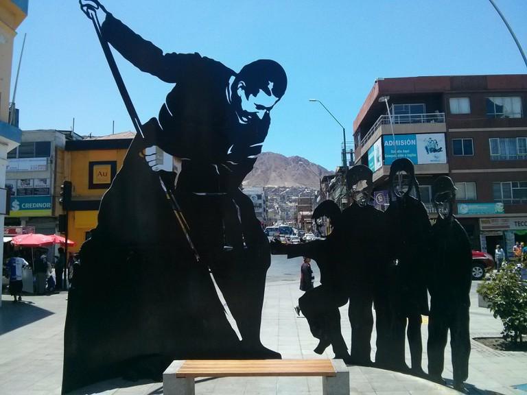 Statue in Antofagasta