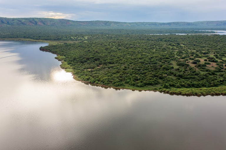 The northern edge of Lake Kivumba | Courtesy of Gaël R. Vande weghe and Philippe Nyirimihigo
