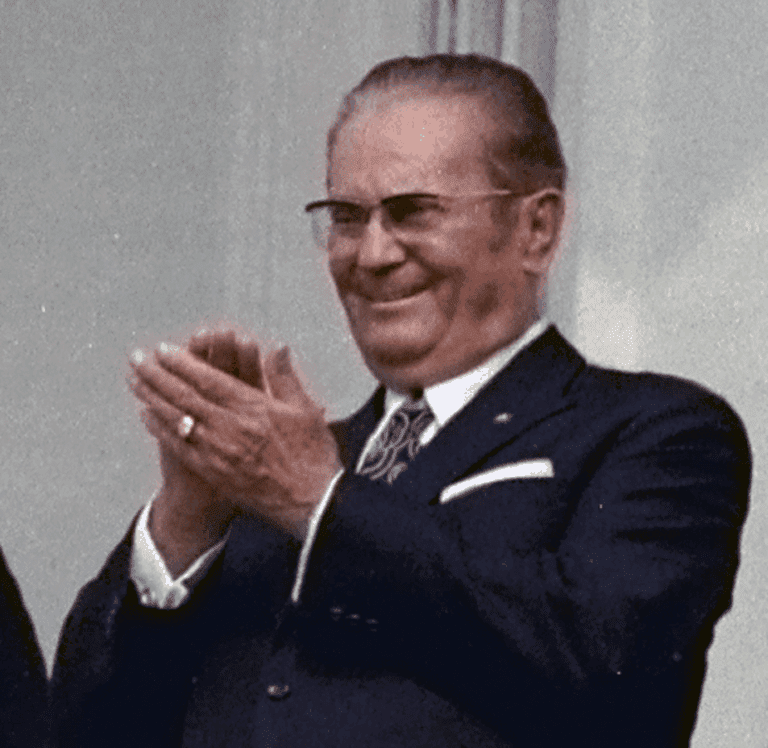Josip Broz Tito charmed all and sundry in Yugoslavia