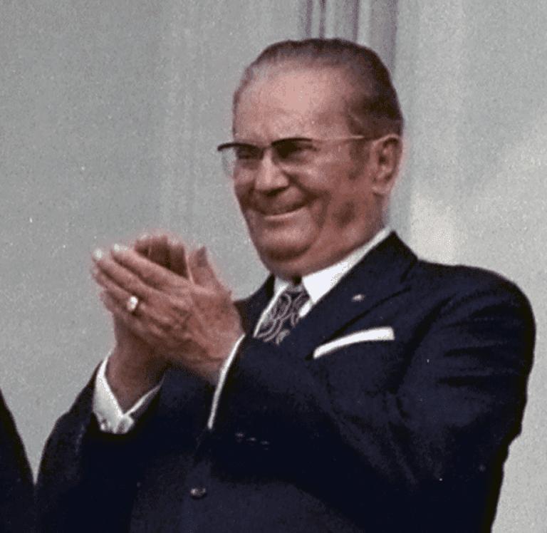 Josip Broz Tito charmed all and sundry in Yugoslavia