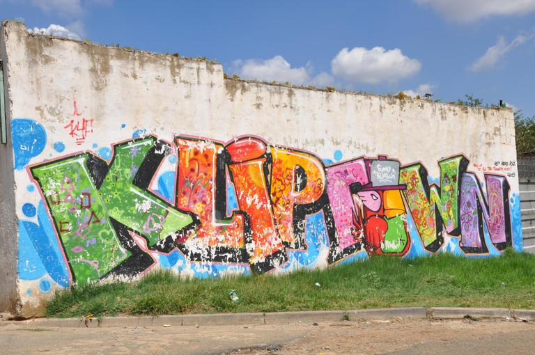 Kliptown is filled with street art and graffiti
