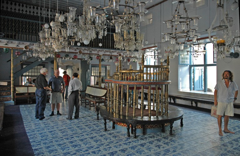 The Paradesi Synagogue is the oldest active synagogue in the Commonwealth of Nations, constructed in 1567