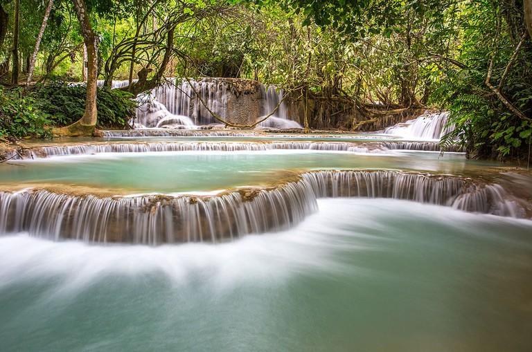 Kuang_Si_Falls,_Luang_Prabang,_Laos