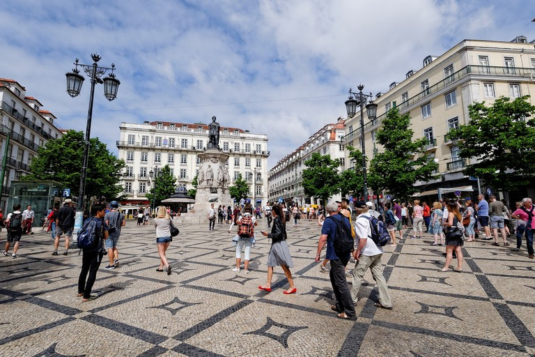 Take a leisurely stroll through traditional squares I