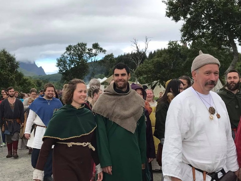 Lofotr Viking Festival 2017 | Courtesy of Lofotr Viking Museum