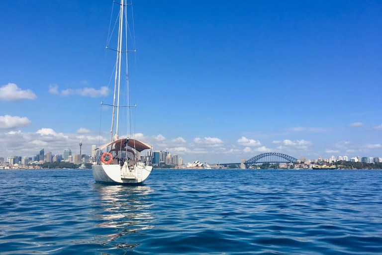 Luxury Yacht on Sydney Harbour © Airbnb